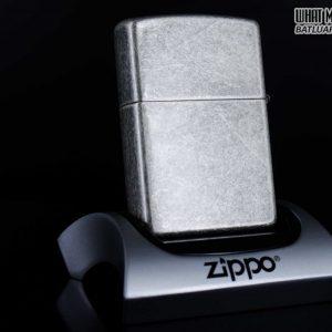 ZIPPO LA MÃ 1998 - ANTIQUE SILVER - BẠC GIẢ CỔ 7