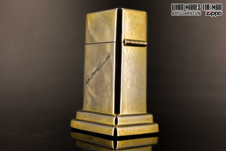 ZIPPO TABLE #4 - 1954 - 1979 - US ARMY - GOLD PLATE 13