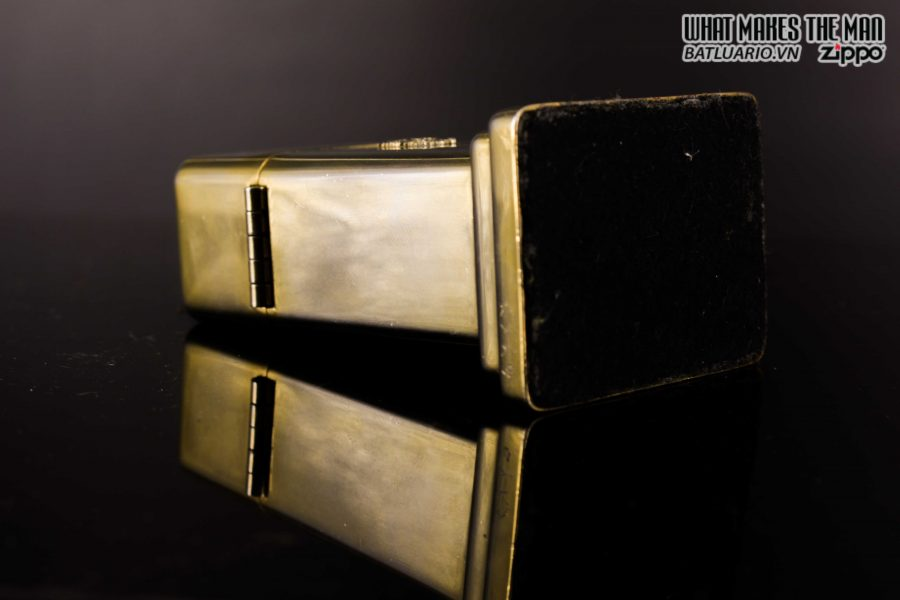 ZIPPO TABLE #4 - 1954 - 1979 - US ARMY - GOLD PLATE 14