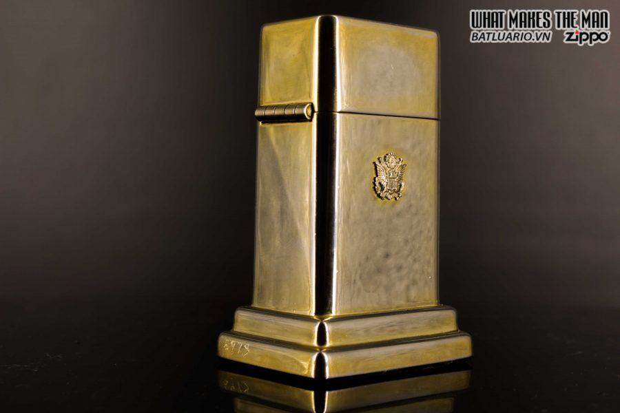 ZIPPO TABLE #4 - 1954 - 1979 - US ARMY - GOLD PLATE 15