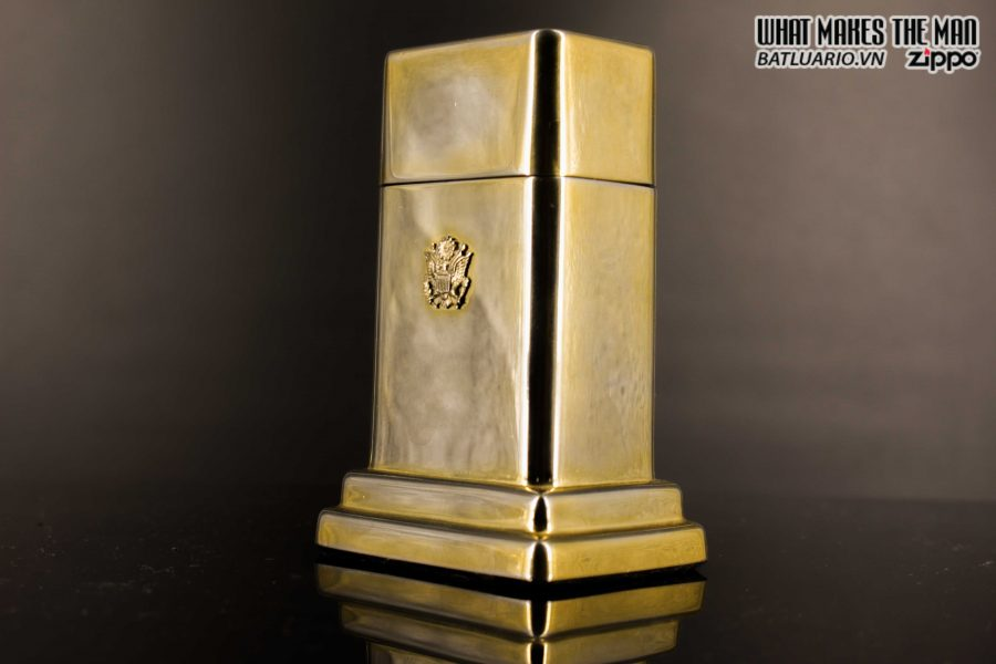 ZIPPO TABLE #4 - 1954 - 1979 - US ARMY - GOLD PLATE 21