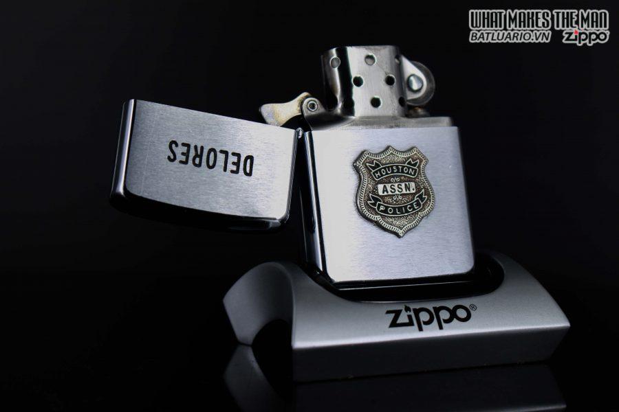 ZIPPO XƯA 1970 – HOUSTON ASSN POLICE 1