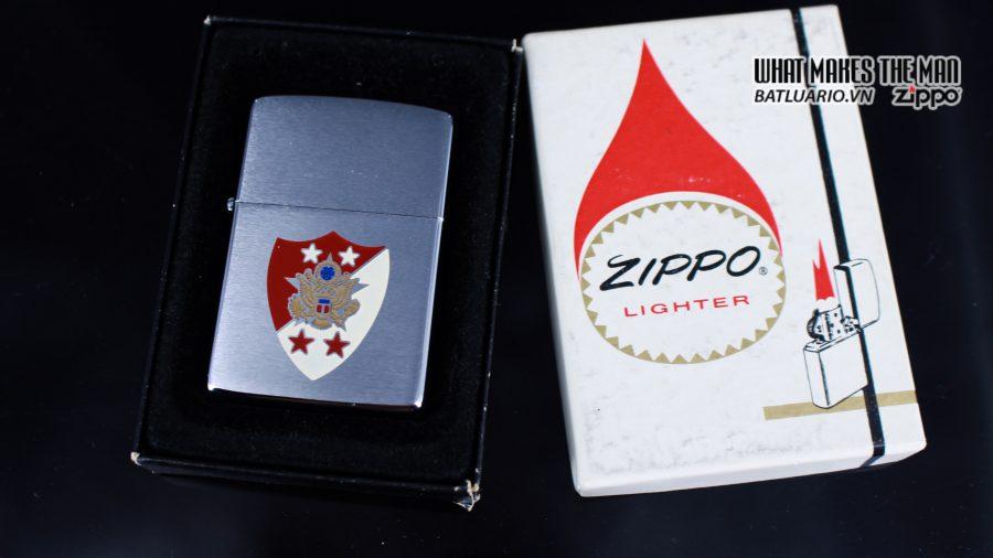 ZIPPO 1985 – SERGEANT MAJOR OF THE ARMY GENE E. MORRELL 1