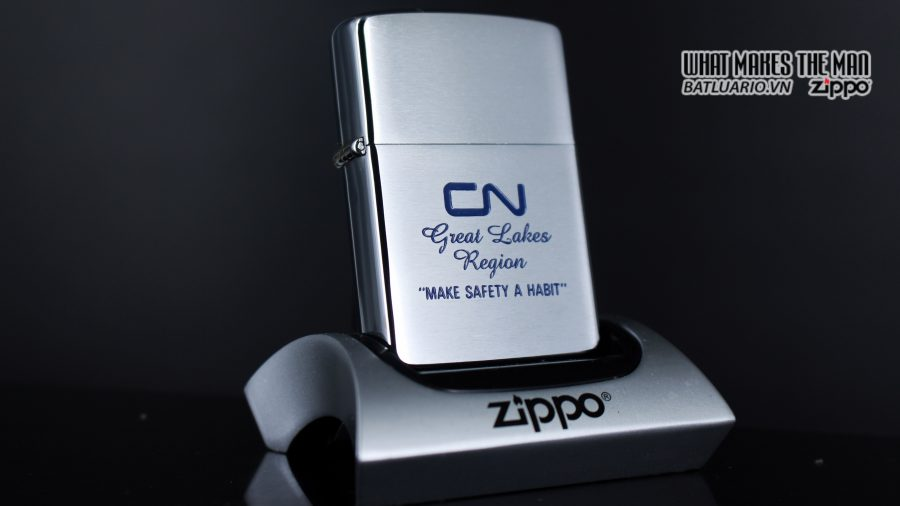 ZIPPO CANADA 1986 – CN GREAT LAKES REGION