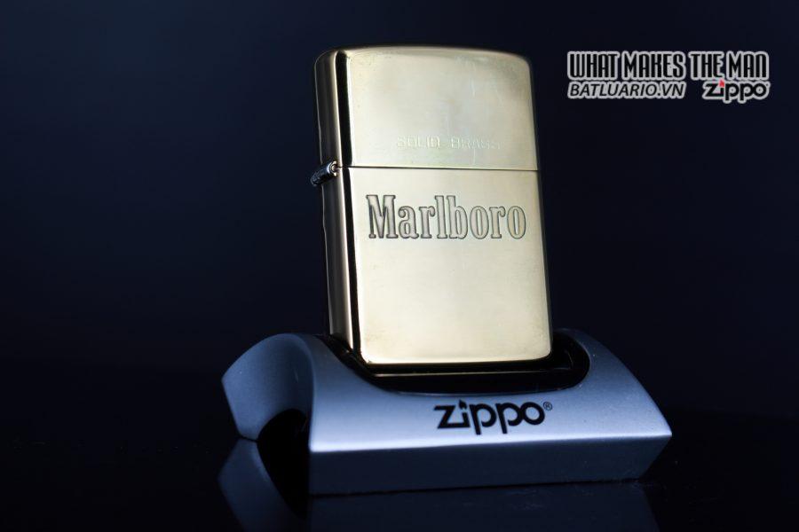 ZIPPO CHU NIÊN 1932-1989 – MARLBORO – ĐỒNG NGUYÊN KHỐI