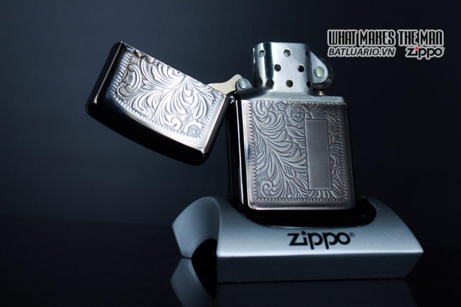 ZIPPO LA MÃ 1993 - VENETIAN MIDNIGHT 1