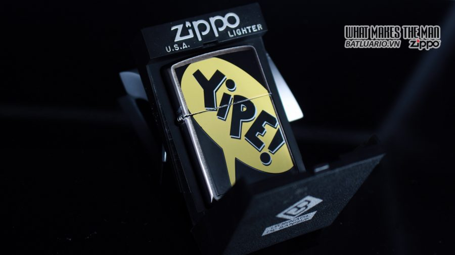 ZIPPO LA MÃ 1995 – BARRET SMYTHE MIDNIGHT COLECTION – YIPE! 1