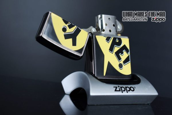 ZIPPO LA MÃ 1995 – BARRET SMYTHE MIDNIGHT COLECTION – YIPE! 8