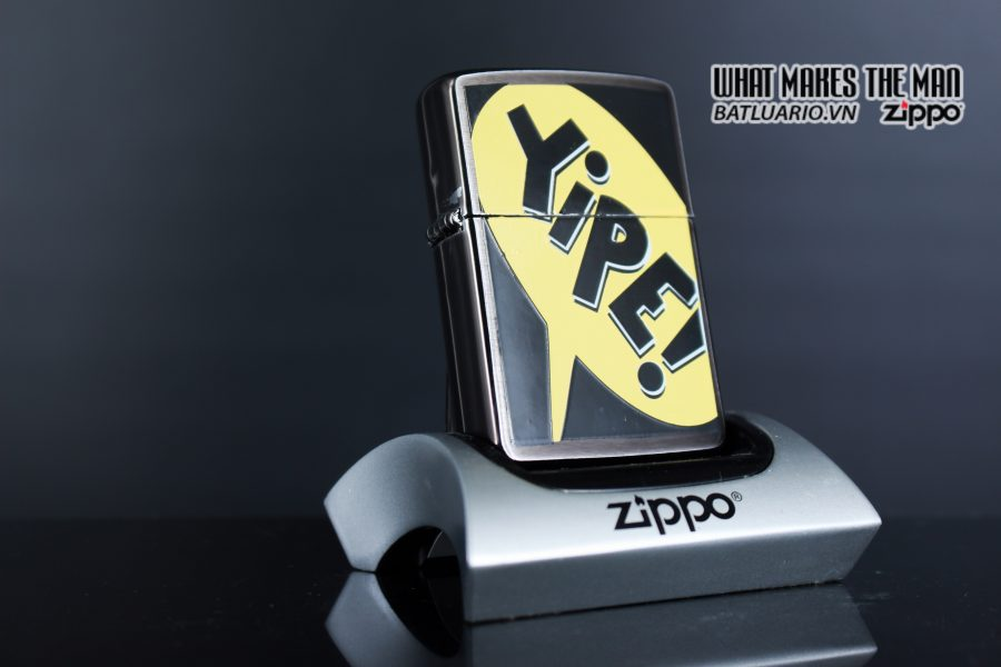 ZIPPO LA MÃ 1995 – BARRET SMYTHE MIDNIGHT COLECTION – YIPE!