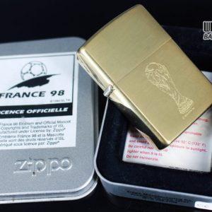 ZIPPO LA MÃ 1997 – FRANCE 98 – BRUSHED BRASS 13