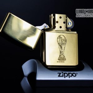 ZIPPO LA MÃ 1997 – FRANCE 98 – HIGH POLISHED BRASS 10