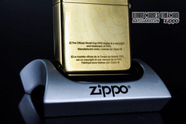 ZIPPO LA MÃ 1997 – FRANCE 98 – HIGH POLISHED BRASS 8