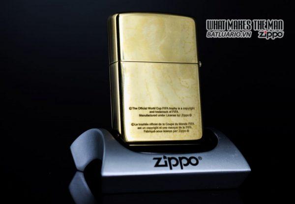 ZIPPO LA MÃ 1997 – FRANCE 98 – HIGH POLISHED BRASS 9