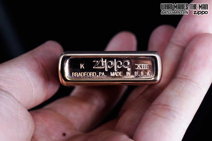 ZIPPO LA MÃ 1997 – MẠ VÀNG HỒNG – ROSE GOLD 5