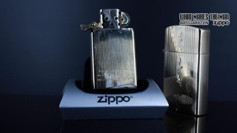 ZIPPO SLIM 1957 – 10K GOLD FILLED – BỌC VÀNG 10K – COBRA HEAD 4