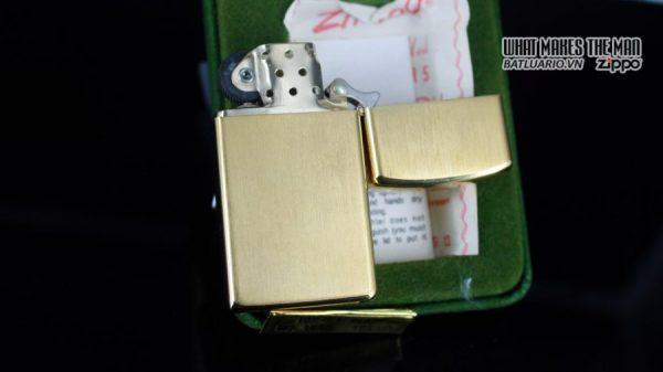 ZIPPO SLIM 1970S – 10K GOLD FILLED 11