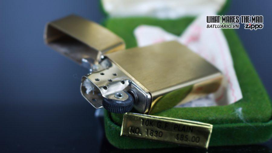 ZIPPO SLIM 1970S – 10K GOLD FILLED 13
