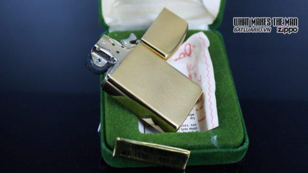 ZIPPO SLIM 1970S – 10K GOLD FILLED 15