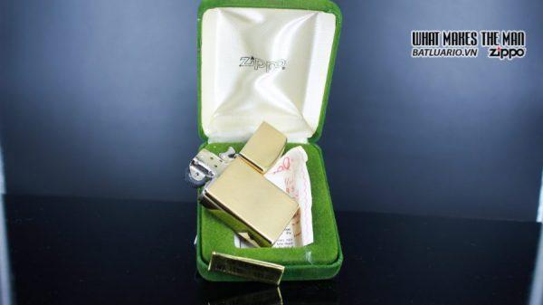 ZIPPO SLIM 1970S – 10K GOLD FILLED 16