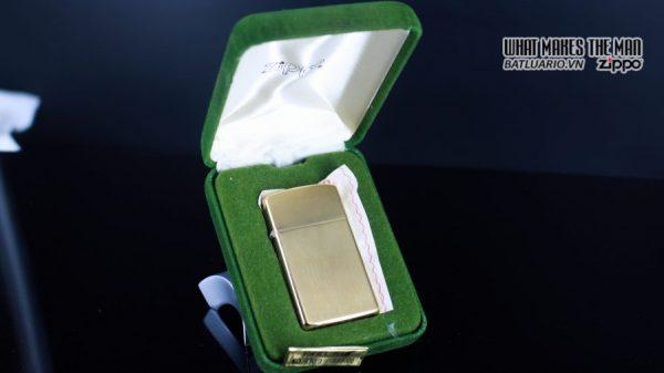 ZIPPO SLIM 1970S – 10K GOLD FILLED 18