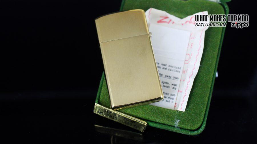 ZIPPO SLIM 1970S – 10K GOLD FILLED 2