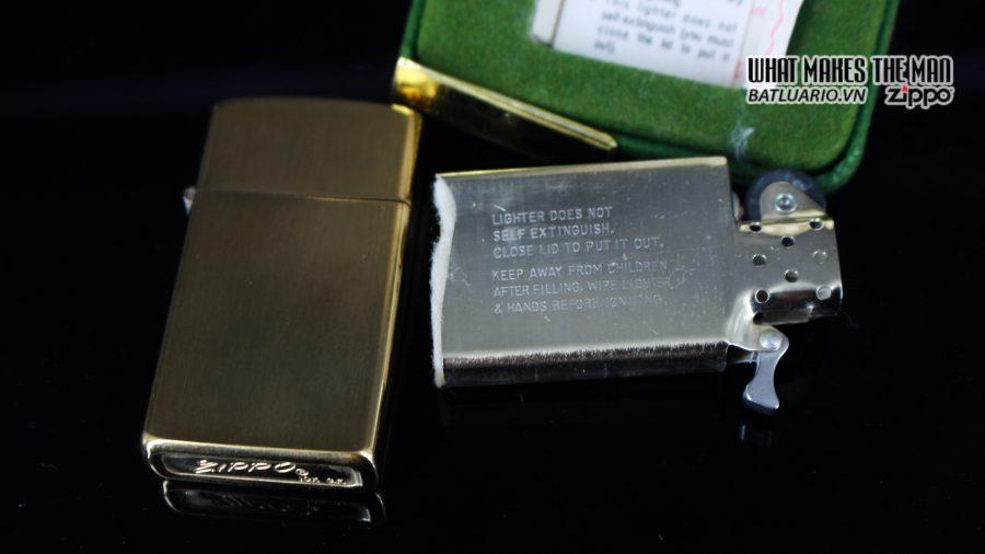 ZIPPO SLIM 1970S – 10K GOLD FILLED 4