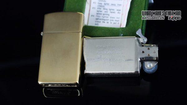 ZIPPO SLIM 1970S – 10K GOLD FILLED 5