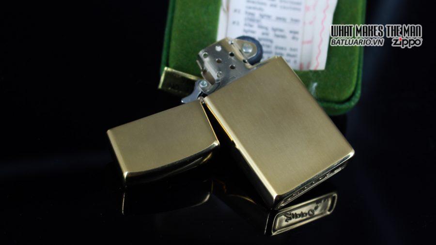 ZIPPO SLIM 1970S – 10K GOLD FILLED 8