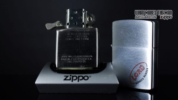 ZIPPO XƯA 1958 – LORD BONDER RUBBER 2