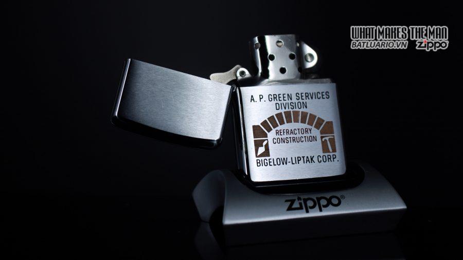 ZIPPO XƯA 1967 – A.P. GREEN SERVICES DIVISION 1