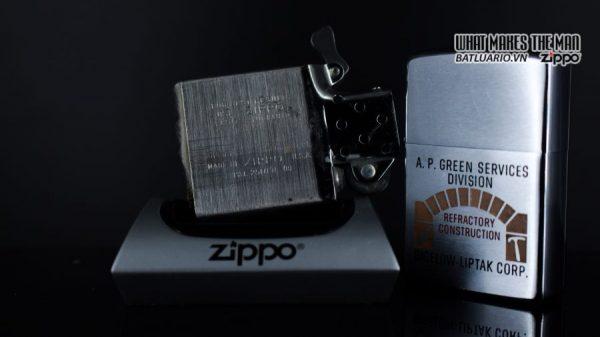 ZIPPO XƯA 1967 – A.P. GREEN SERVICES DIVISION 2