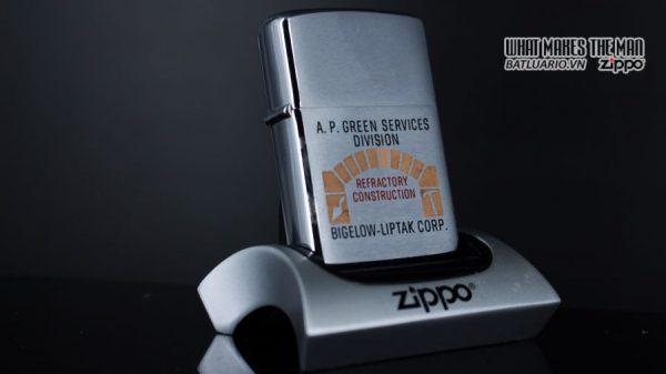 ZIPPO XƯA 1967 – A.P. GREEN SERVICES DIVISION 8