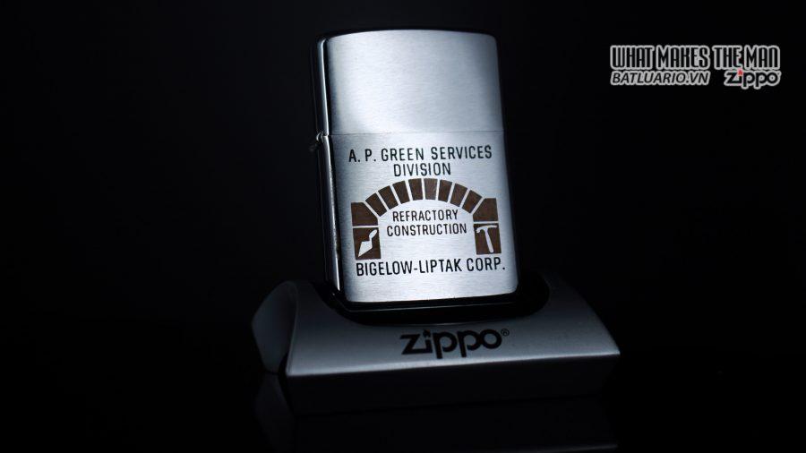 ZIPPO XƯA 1967 – A.P. GREEN SERVICES DIVISION