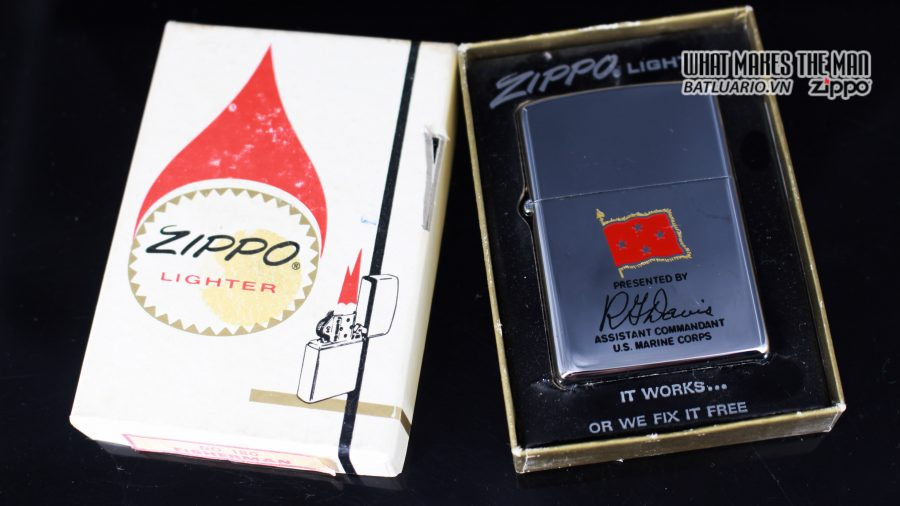 ZIPPO XƯA 1971 – PRESENTED BY ASSISTANT COMMANDANT U.S. MARINE CORPS 1