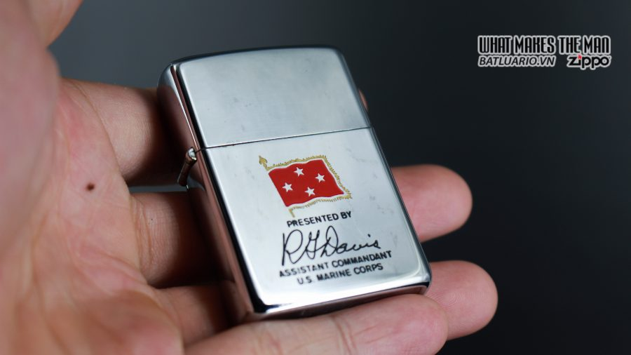 ZIPPO XƯA 1971 – PRESENTED BY ASSISTANT COMMANDANT U.S. MARINE CORPS 2