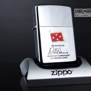 ZIPPO XƯA 1971 – PRESENTED BY ASSISTANT COMMANDANT U.S. MARINE CORPS