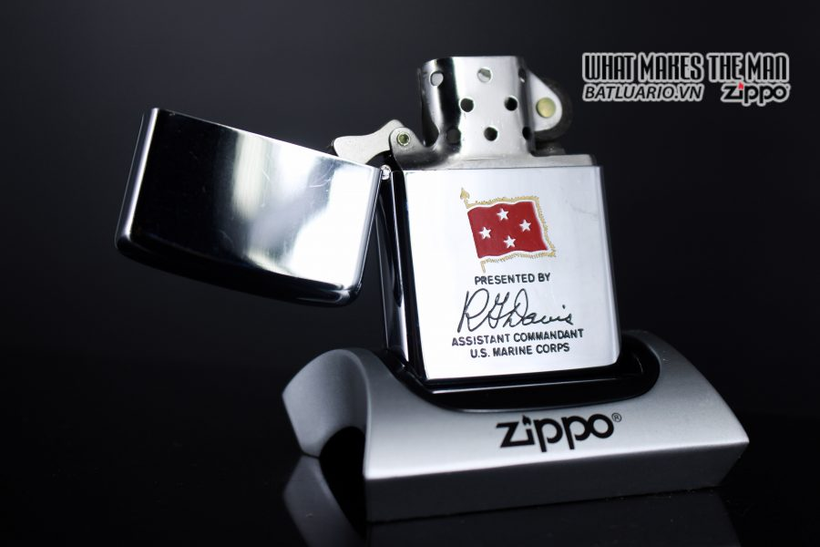 ZIPPO XƯA 1971 – PRESENTED BY ASSISTANT COMMANDANT U.S. MARINE CORPS 7