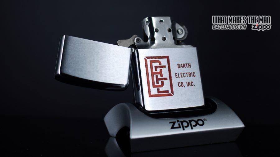 ZIPPO XƯA 1973 – BARTH ELECTRIC CO, INC. 1