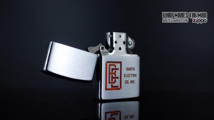ZIPPO XƯA 1973 – BARTH ELECTRIC CO, INC. 7