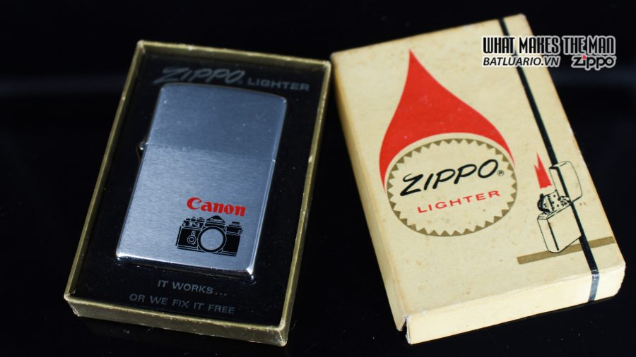 ZIPPO XƯA 1976 – CANON 1