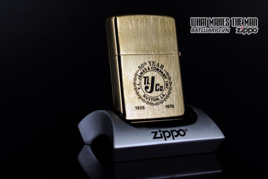 ZIPPO XƯA 1976 – MẠ VÀNG 22K – GOLD PLATE GOLDEN ELEGANCE 2