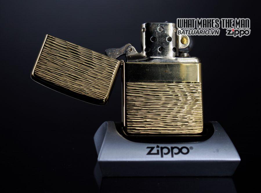 ZIPPO XƯA 1976 – MẠ VÀNG 22K – GOLD PLATE GOLDEN ELEGANCE 3