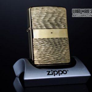 ZIPPO XƯA 1976 – MẠ VÀNG 22K – GOLD PLATE GOLDEN ELEGANCE