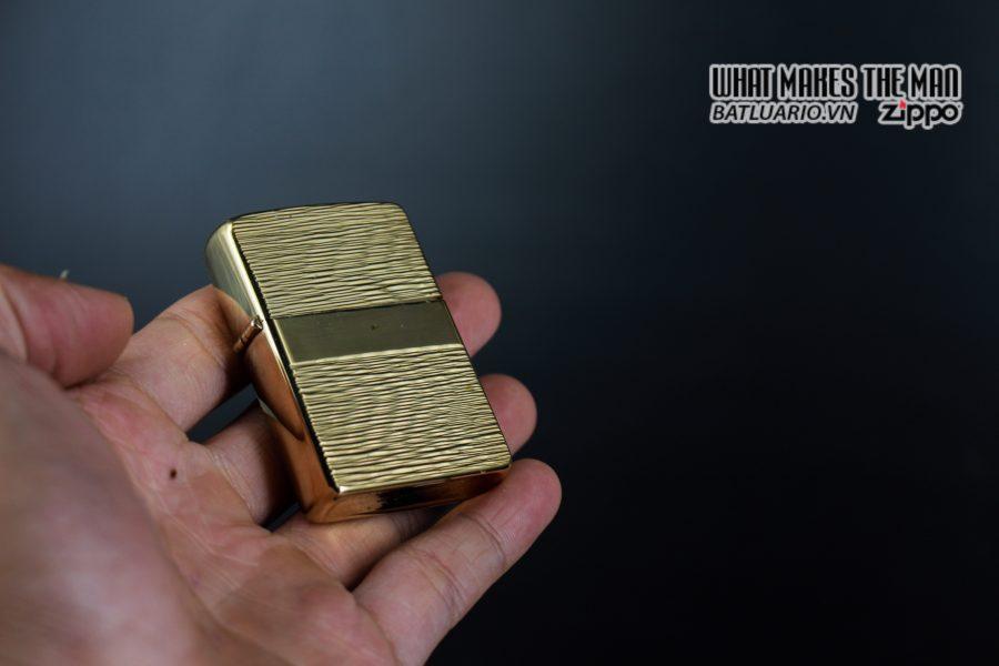 ZIPPO XƯA 1976 – MẠ VÀNG 22K – GOLD PLATE GOLDEN ELEGANCE 7