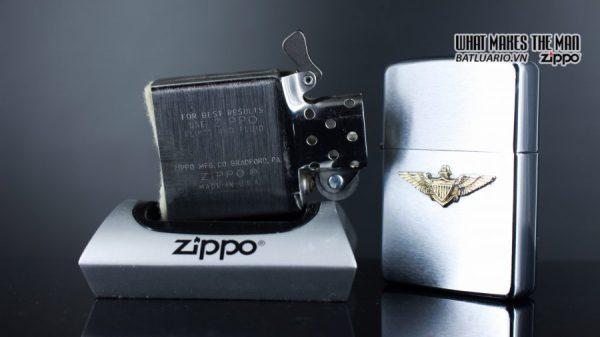 ZIPPO XƯA 1976 – NAVY WINGS 3