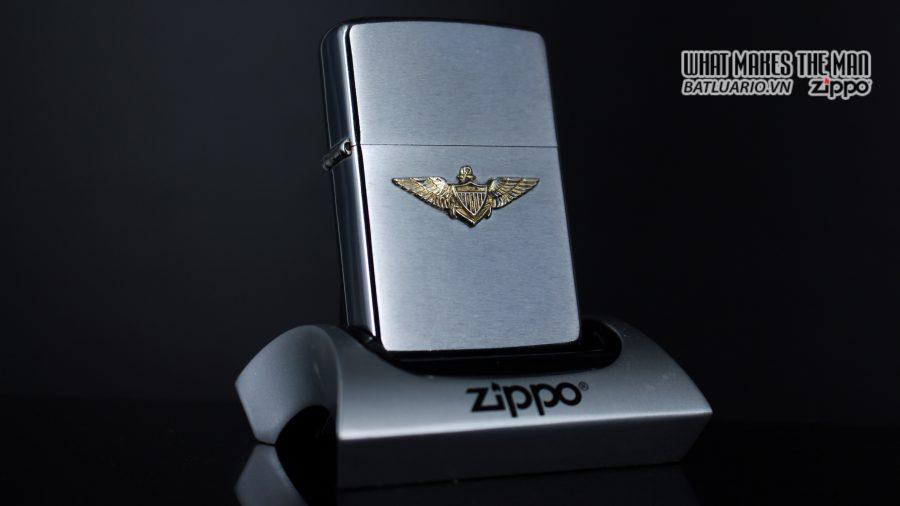 ZIPPO XƯA 1976 – NAVY WINGS