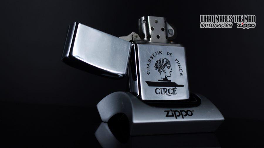 ZIPPO XƯA 1978 – CHASSEUR DE MINES CIRCE 1