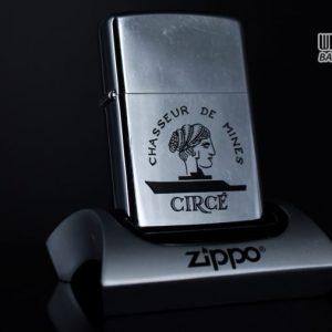 ZIPPO XƯA 1978 – CHASSEUR DE MINES CIRCE