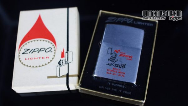 HIẾM – ZIPPO 1976 – SALESMAN SAMPLE PROMOTION – INDEPENDENCE DAY 1776 – 1976 1