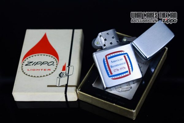 HIẾM – ZIPPO 1976 – SALESMAN SAMPLE PROMOTION – INDEPENDENCE DAY 1776 – 1976 11